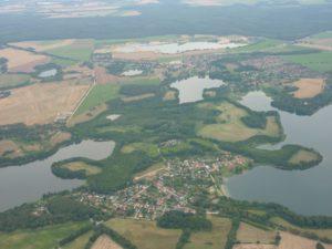 Gemeinde Pinnow, Aufnahme aus dem Jahr 2010